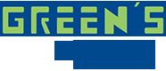 greens plumbing logo